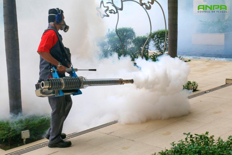 las fumigaciones para combatir plagas